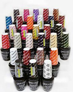 Gelcolor -Soak Off Nail Gel Polish opi- series 7 .5oz - Pick Your Color/Top/Base