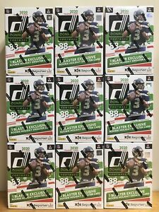 2020 PANINI DONRUSS NFL FOOTBALL HOLIDAY BLASTER BOX HERBERT CHRISTMAS RC PRIZM