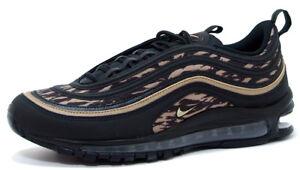 Details about Nike AIR MAX 97 AOP AQ4132 001 BLACKKHAKI VELVET BROWN sz 8.5, 11.5