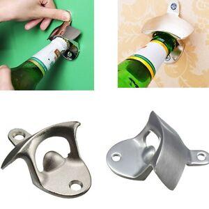 Bottle-Opener-Wall-Mounted-Opener-Bar-Beer-Soda-Cap-Tools-Fixed-Wine-Opener