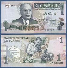TUNESIEN / TUNISIA  1 Dinar 1973  UNC  P. 69