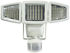 Sunforce 180 LED Triple Head Solar Powered Motion Activated 1200 Lms Flood Light