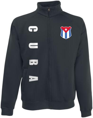 Kuba CUBA wM 2018 Sweat Jacke Trikot Name Nummer