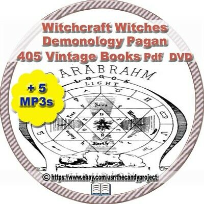 1900 Occult Books /& Images Alchemy Astrology Witchcraft Paganism PDF 3DVDs