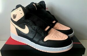 77eb6cadd41 SHIP NOW Nike Air Jordan 1 Retro High OG Crimson Tint 4-13 Black ...