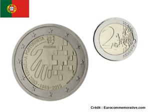 2 Euros Commémorative Portugal 2015 Croix Rouge UNC