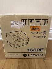 Lathem Tru Align Time Clock And Stamp Includes 25 Tru Align Time Cards 1600e