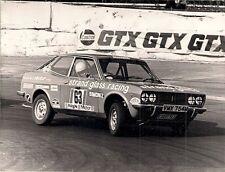 Fiat 128 Sport Coupe Saloon Car Racing Original Early 1970s UK Press Photograph