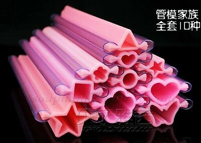 Good Quality Thick Long Many Sharps Soap Tube mold mould BN