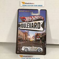 '55 Corvette * White * Boulevard Hot Wheels * W204