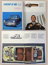 Original Werbeprospekt Auto Union DKW F12 um 1960 Automobile Oldtimer Audi xz