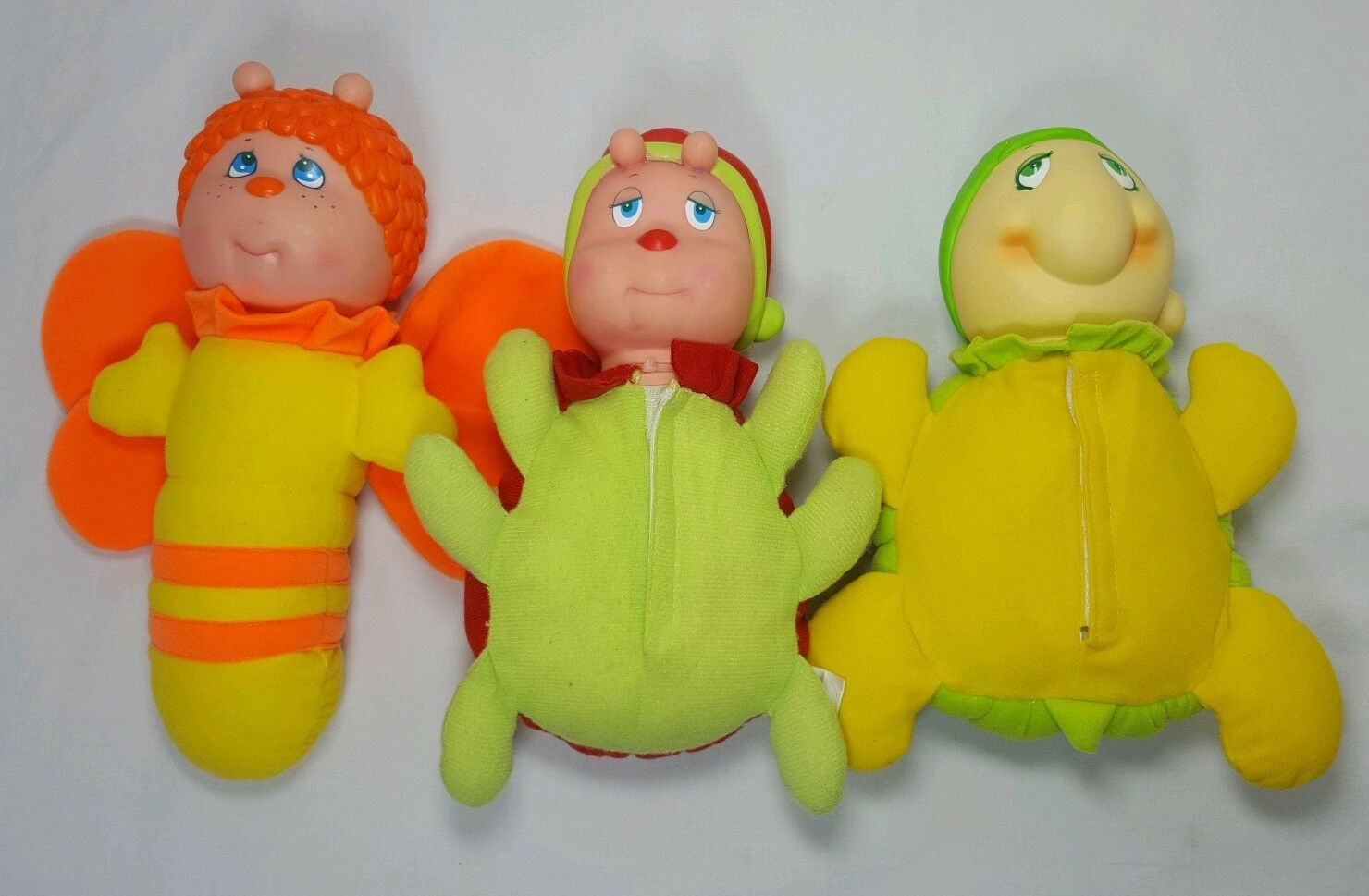 Glo Kids Bug Hug N Glow Plush Firefly Glow Worm Bee Turtle Lady Bug Lot Soma
