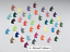 Tiny Unicorn Confetti Punchies Assorted Colours in sets of 150