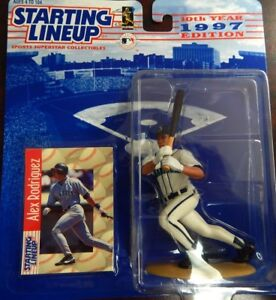 Starting Lineup 1997 MLB Alex Rodriguez Figure and Card