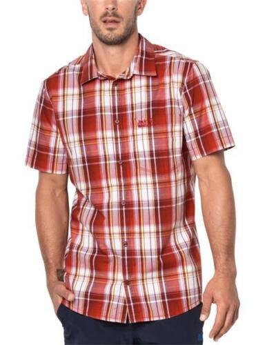 Jack Wolfskin Hot Chilli Shirt 1400244 Herren Hemd volcano red *UVP 39,99