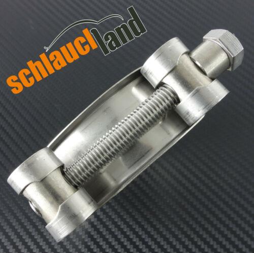 Gelenkbolzenschelle 80-85mm Edelstahl V2A *** Silikonschlauch Schelle Heavy-Duty