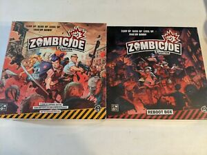 Zombicide 2nd Edition Kickstarter Reboot with tons of Exclusives CMON - IN HAND!