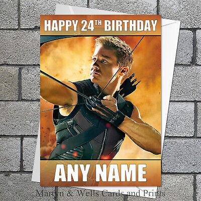 Marvel Avengers. 5x7 inches Lego Hulk personalised birthday card
