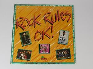 Various-Pop-Rock-Rules-OK-Australian-vinyl-LP-album-record-DIN034-DINO
