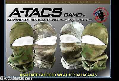 Cold Weather Balacava A-TACS AU, FG, LE
