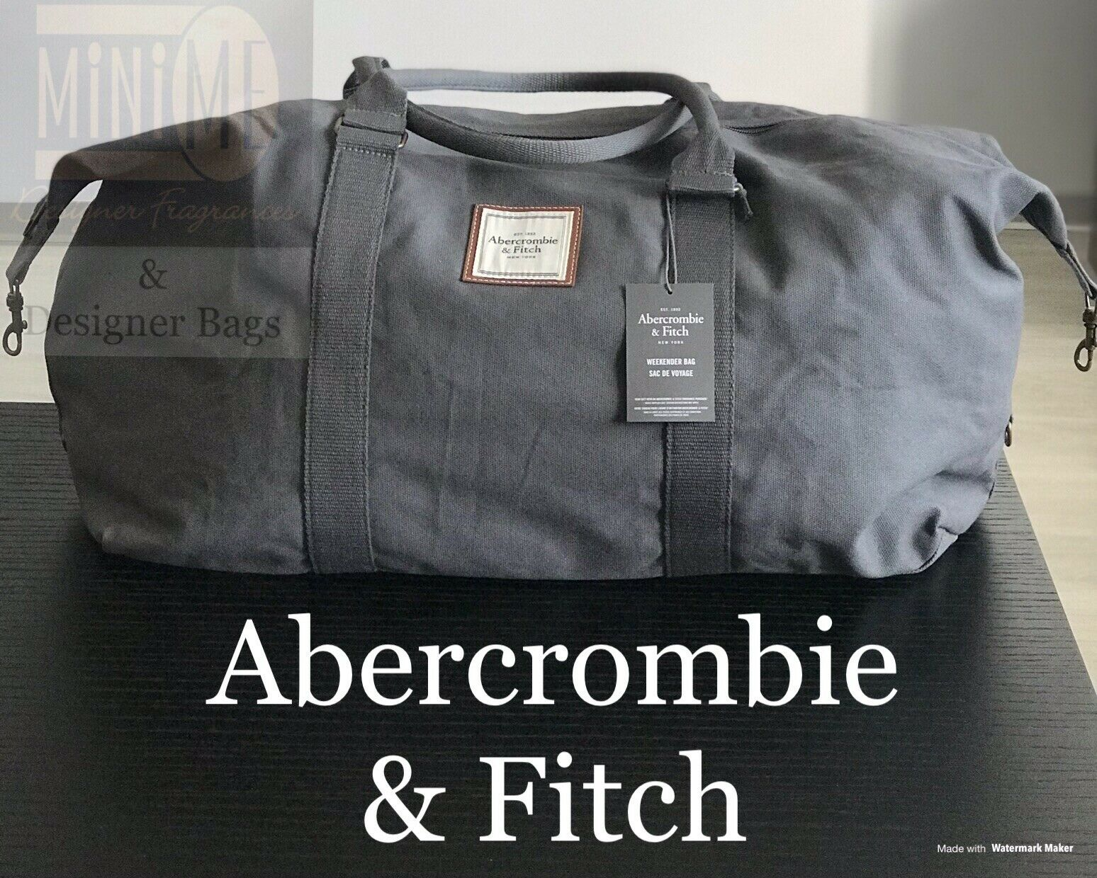 Abercrombie Fitch Mens Duffle Holdall