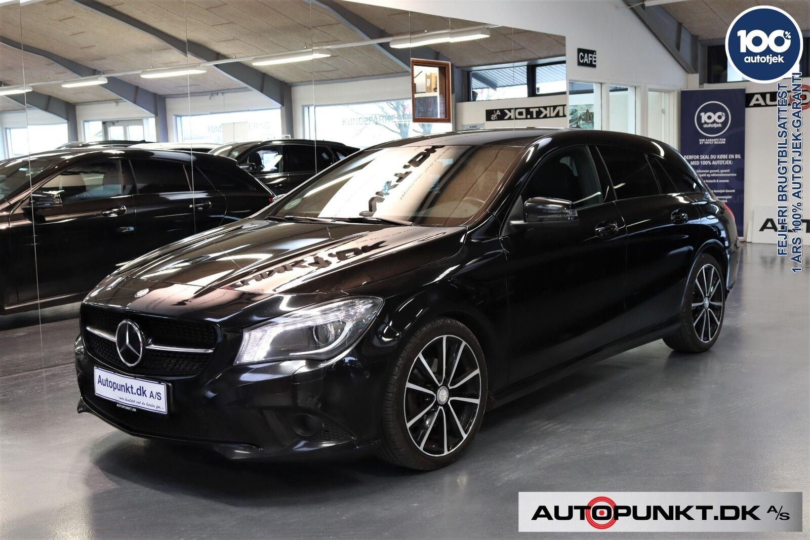 Mercedes CLA220 2,2 CDi SB aut. 5d - 289.700 kr.