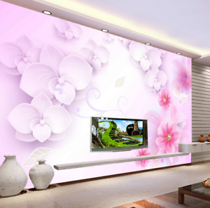 3D Blossom 5678 Wallpaper Murals Wall Print Wallpaper Mural AJ WALL UK Kyra