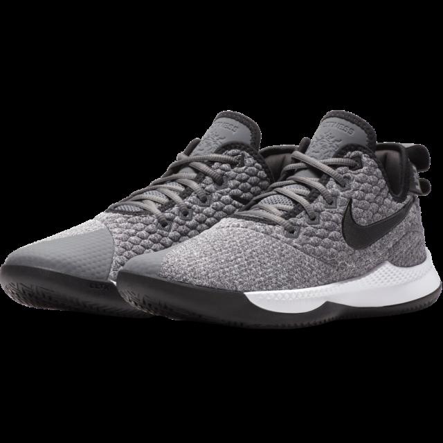uk availability 9215e bfeb3 Nike Lebron James Witness III Mens Basketball Size 11 Grey Black Ao4433 002