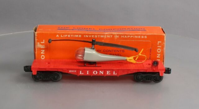 Lionel Red Operating Helicopter
