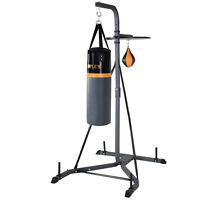 2 In 1 Punch Bag Wall Bracket Steel Mount Hanging Stand Boxing Frame Sports