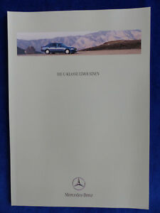 Mercedes-Benz-C-Klasse-Limousinen-C-43-AMG-W202-Prospekt-Brochure-07-1999