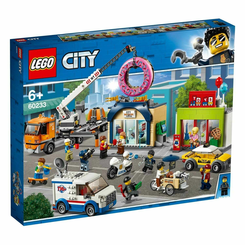 confortevole LEGO ® città 60233-gree ciambella-negozio-INAUGURAZIONE NUOVO NUOVO NUOVO & OVP, immediatamente  l'ultimo