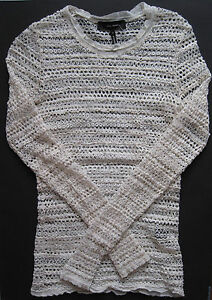 AUTH ISABEL MARANT CROCHET LACE 36 SWEATER BLOUSE SHIRT PULLOVER OFF WHITE NEW! - <span itemprop='availableAtOrFrom'>Hamburg, Deutschland</span> - AUTH ISABEL MARANT CROCHET LACE 36 SWEATER BLOUSE SHIRT PULLOVER OFF WHITE NEW! - Hamburg, Deutschland