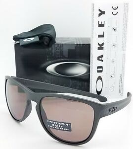NEW-Oakley-Sliver-R-sunglasses-Steel-Prizm-Daily-Polarized-9342-08-AUTHENTIC