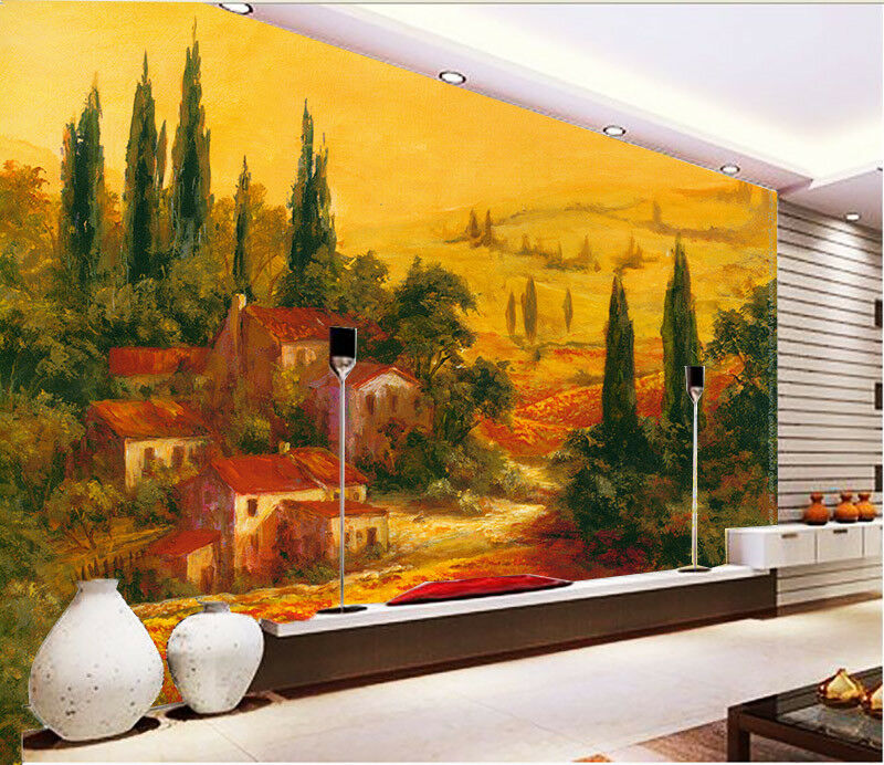 3D Forest House 682 Wallpaper Murals Wall Print Wallpaper Mural AJ WALL AU Kyra