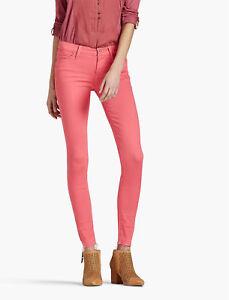 20c97fe5a7e76 Lucky Brand WOMEN'S BROOKE LEGGING JEAN 10/30 CLARET RED bounce-back ...