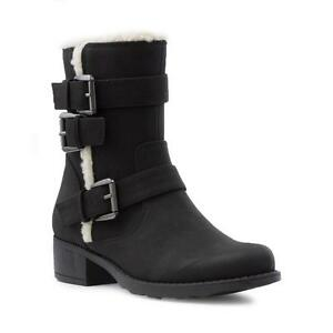 Lilley-Womens-Black-Ankle-Boot-with-Warm-Lining-Sizes-3-4-5-6-7-8-9