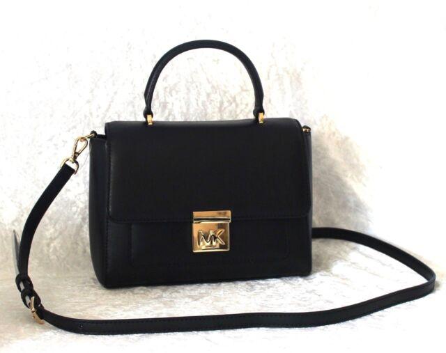 0693aa3cb1352 Michael Kors Damen Handtasche Tragetasche Schultertasche Bag schwarz ...