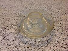 Vintage Glass Chicken Watering Base Feeder Patent 126997 Bentzen Amp Niggeler