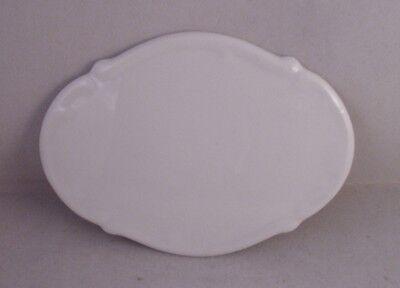 Türschild Bad Porzellan weiß
