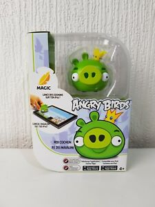 ANGRY-BIRDS-KING-PIG-Magic-Figure-with-Apple-iPad-App-Download-Game