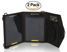 (2-PACK) GOAL ZERO Nomad 7 12301 Portable Mesh Folding Solar Panel - Refurbished