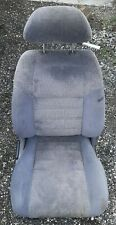 90 93 Toyota Celica St184 Passenger Right Front Gray Cloth Bucket Seat W Tracks