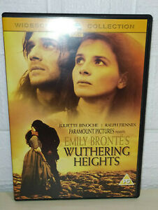 EMILY BRONTE'S - WUTHERING HEIGHTS - WIDESCREEN - ENGLISH - DVD