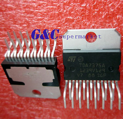 10PCS IC TDA7375 / TDA7375A  ZIP-15 ST NEW GOOD QUALITY  Z2
