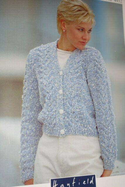 Hayfield Knitting Pattern 4932 Iceburg Chunky Cardigan 32 ...