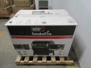 Weber SmokeFire EX4 (2nd Gen) Wood Fired Pellet Grill Black 22510201