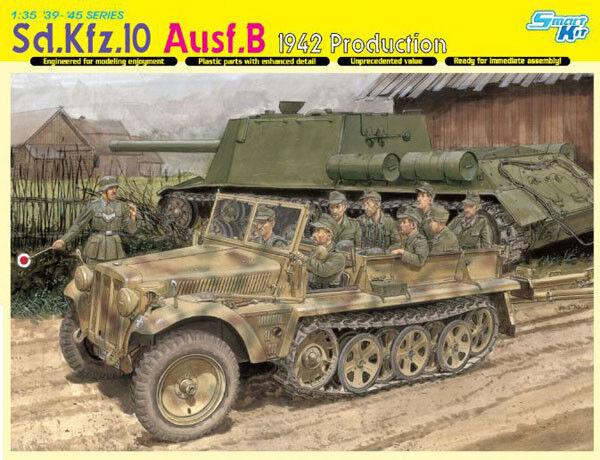 Dragon  35 Sd.Kfz.10 Ausf.B 1942 Production