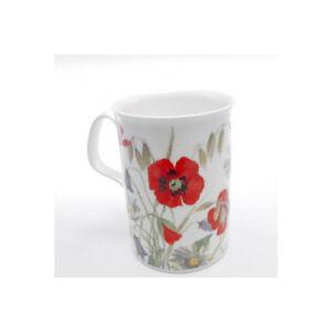 Roy-Kirkham-English-Meadow-Red-Poppy-Design-Bone-China-Mug-Traditional-Drink