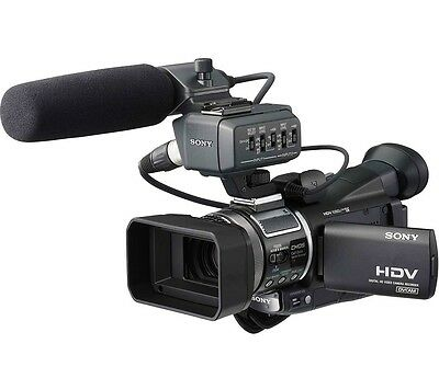 SONY HVR-A1E CAMCORDER HDV DIGITAL TAPE HD PRO DIGITAL HIGH DEFINITION VIDEO